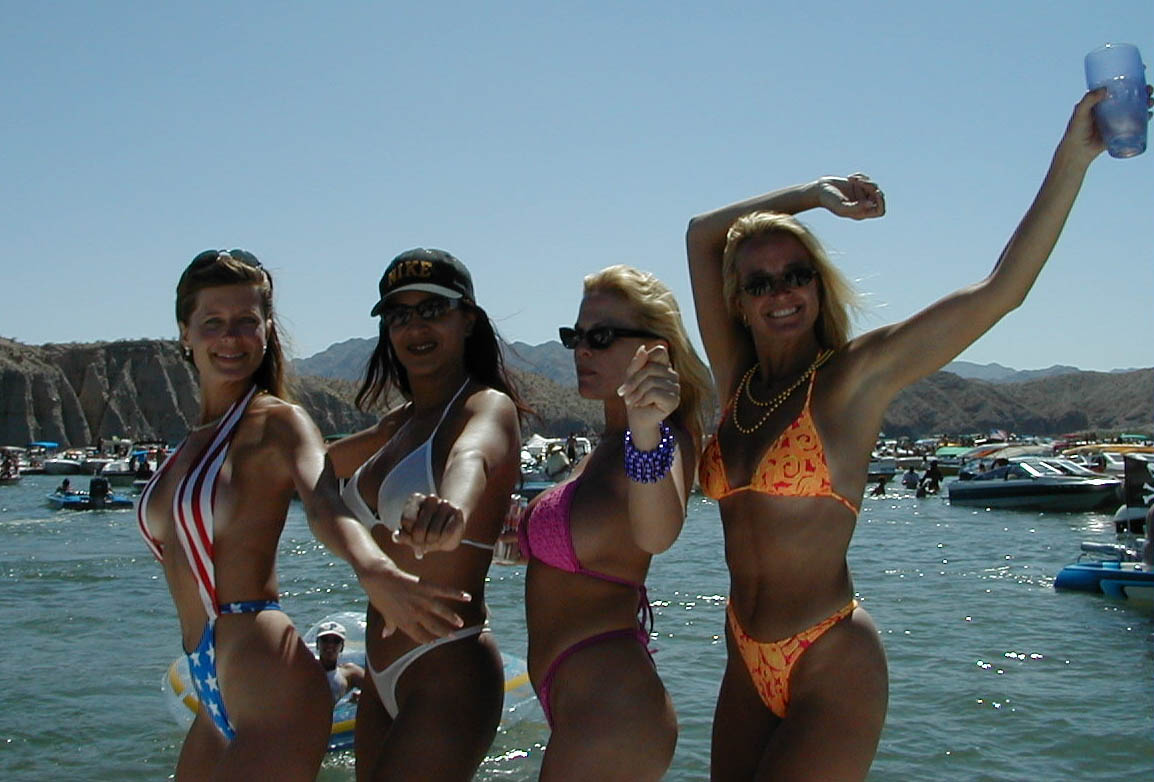 Girls On Boats Lake Havasu